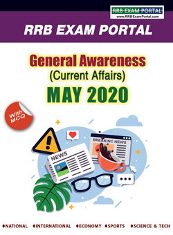 General Knowledge for RRB Exams - MAY 2020